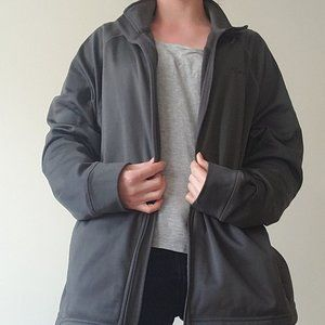Gray Running Jacket XL